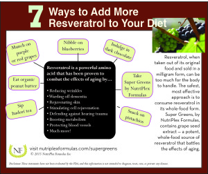 7 Ways to Add More Resveratrol to Your Diet