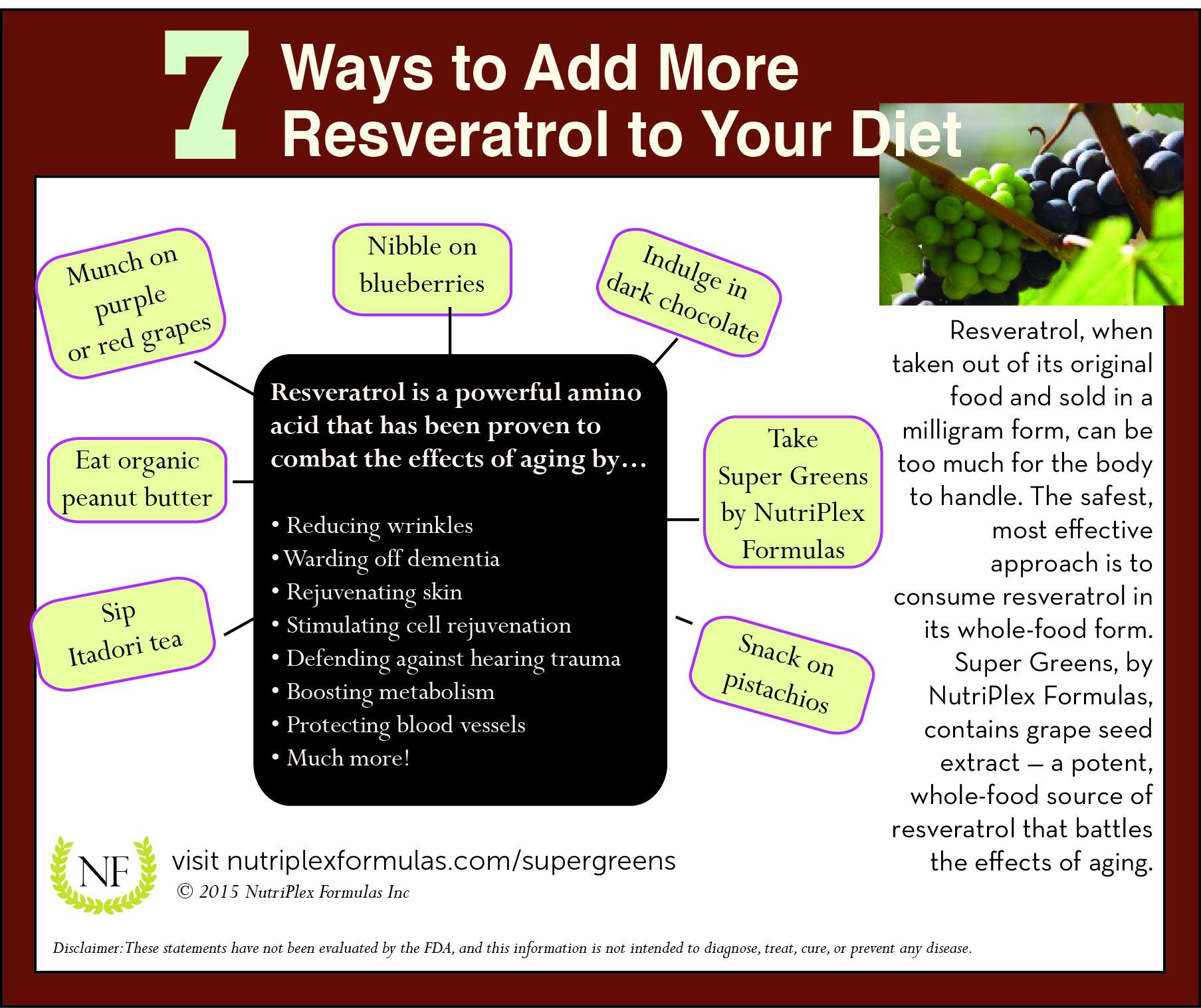 7 Ways Resveratrol Fights Aging Nutriplex Formulas