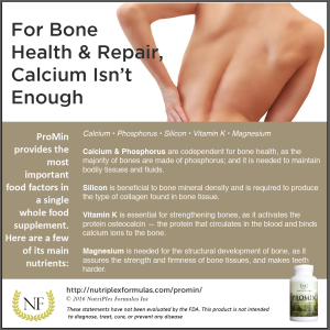Take ProMin for Bone Health