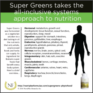 super greens vegetarian multivitamin for every body system