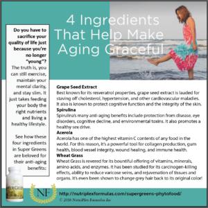 supergreens anti-aging ingredients